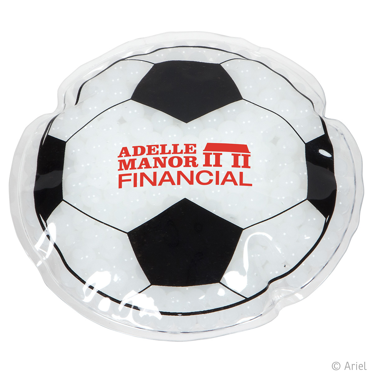 Soccer Ball Hot/Cold Pack, WHF-SC16 - 1 Colour Imprint