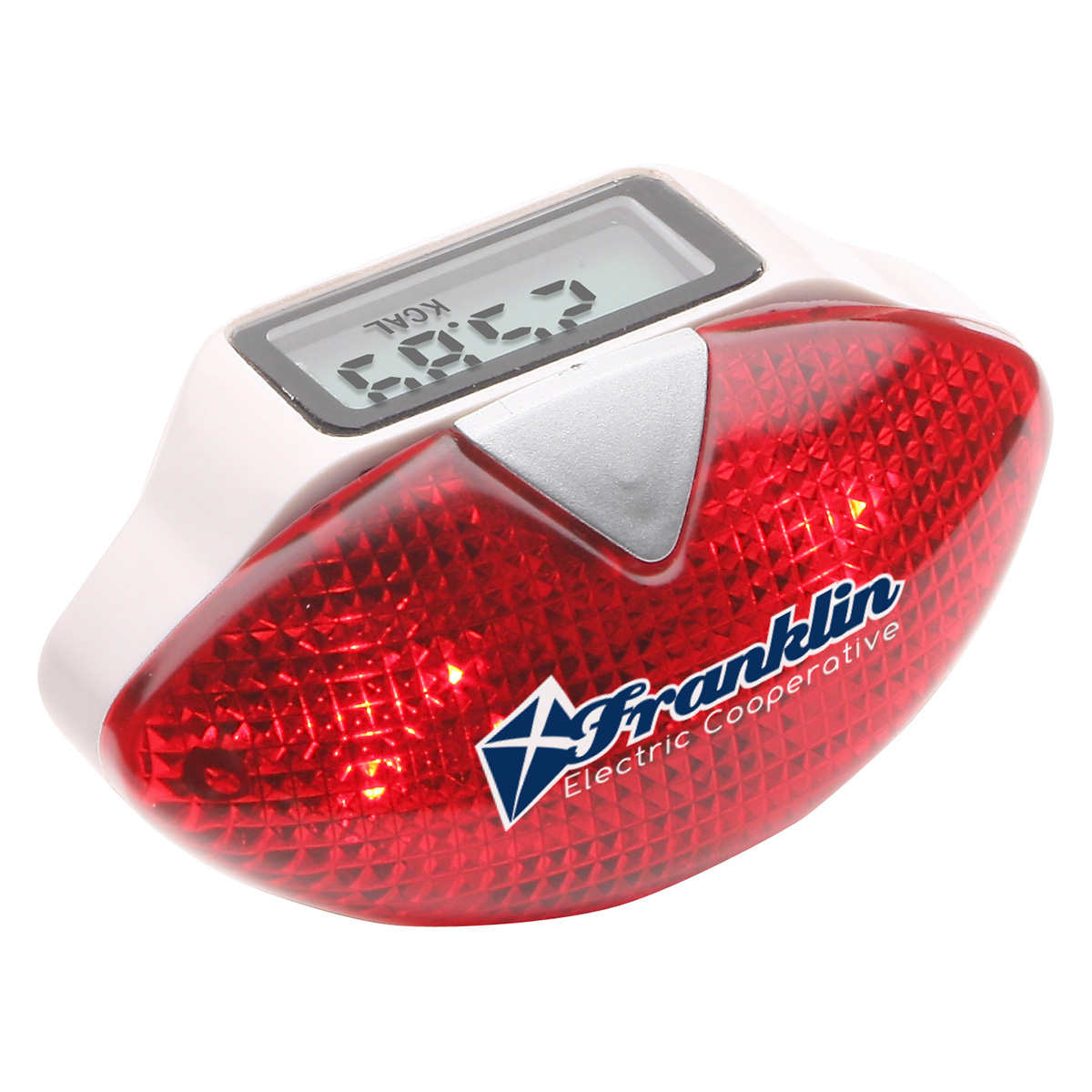 Safety Flash Pedometer, WHF-SF10 - 1 Colour Imprint
