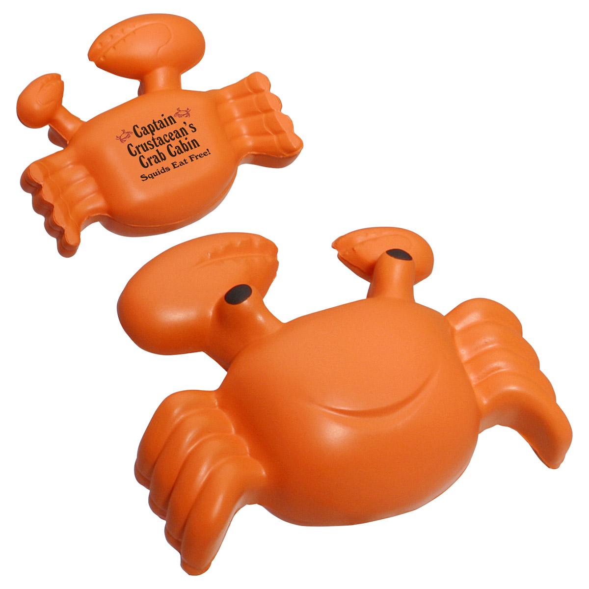 Crab Stress Reliever, LAA-CR02 - 1 Colour Imprint