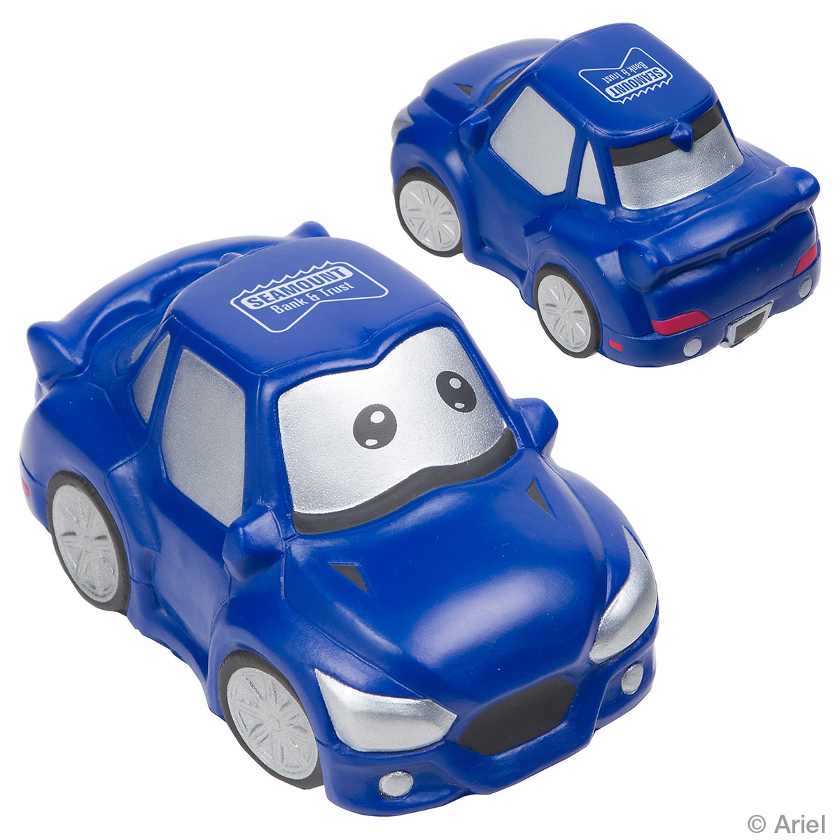 Cute Car Stress Reliever, LTR-CC17, 1 Colour Imprint