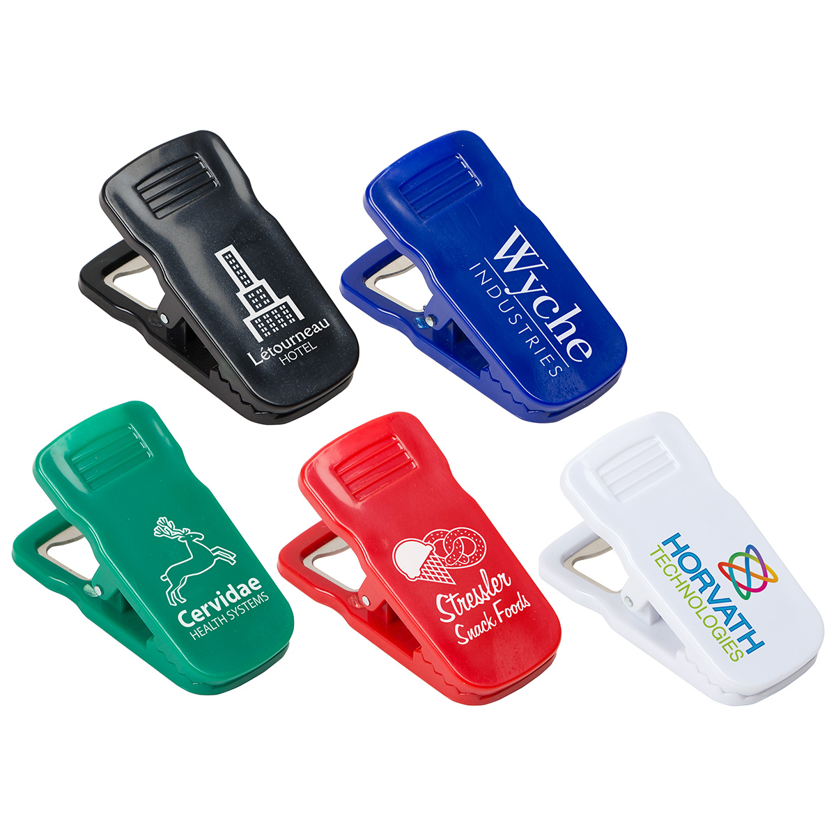 Clip It Bottle Opener, WKA-CB17 - 1 Colour Imprint