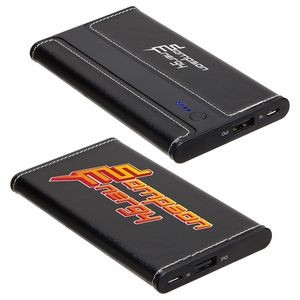 Envoy 4000mAh Leather Power Bank