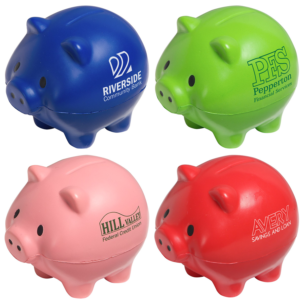 Thrifty Pig Stress Reliever, LFN-TP20, 1 Colour Imprint