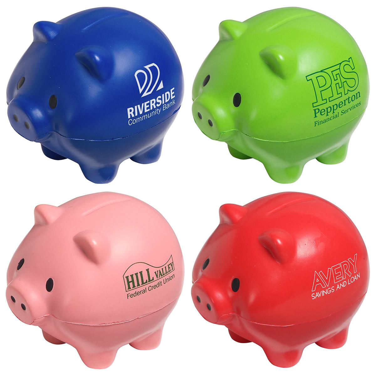 Thrifty Pig Stress Reliever, LFN-TP20 - 1 Colour Imprint