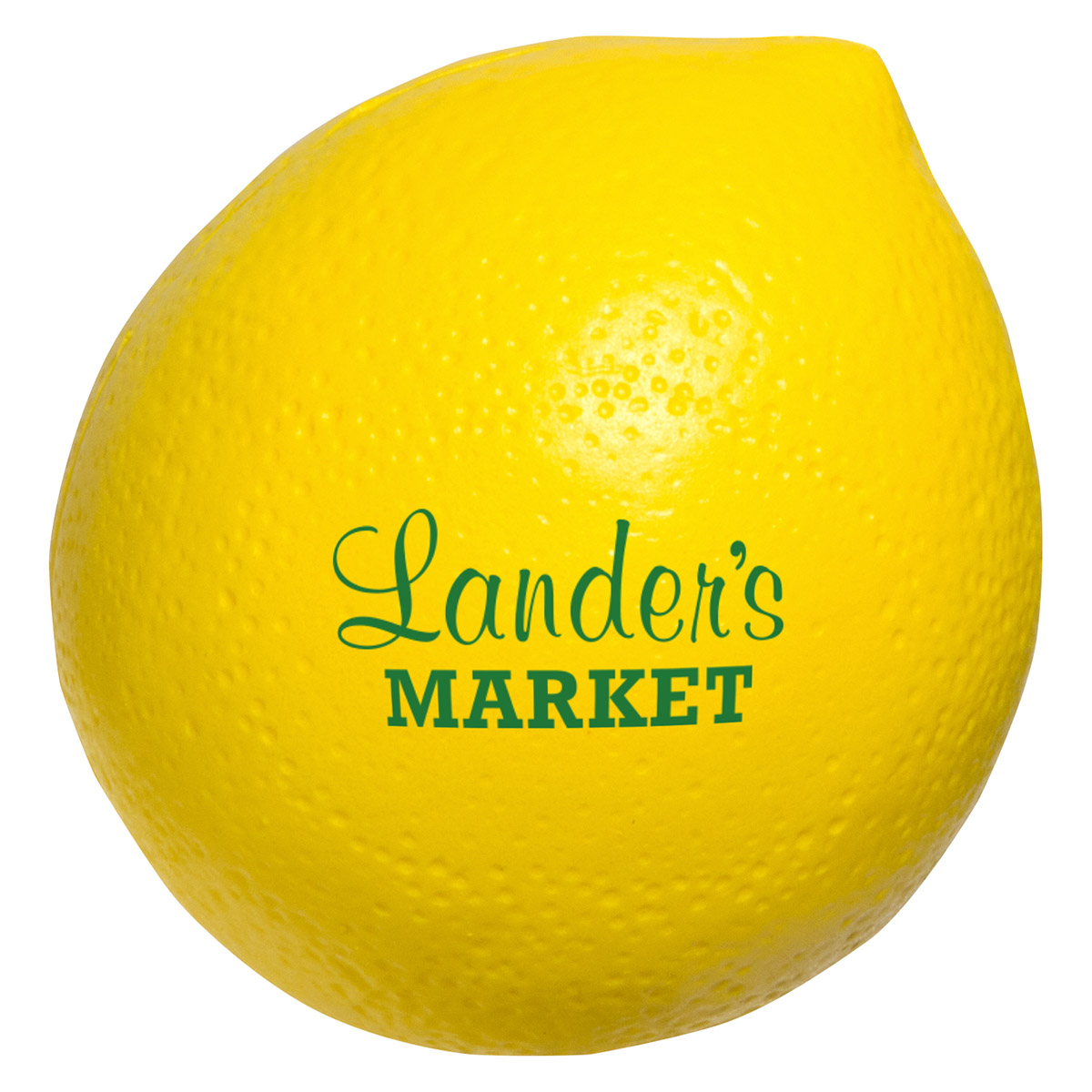 Lemon Stress Reliever, LFR-LN14, 1 Colour Imprint