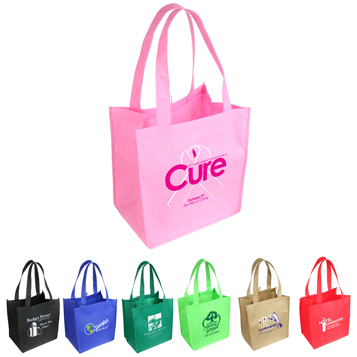 Sunbeam Tote Shopping Bag, WBA-ST09, 1 Colour Imprint