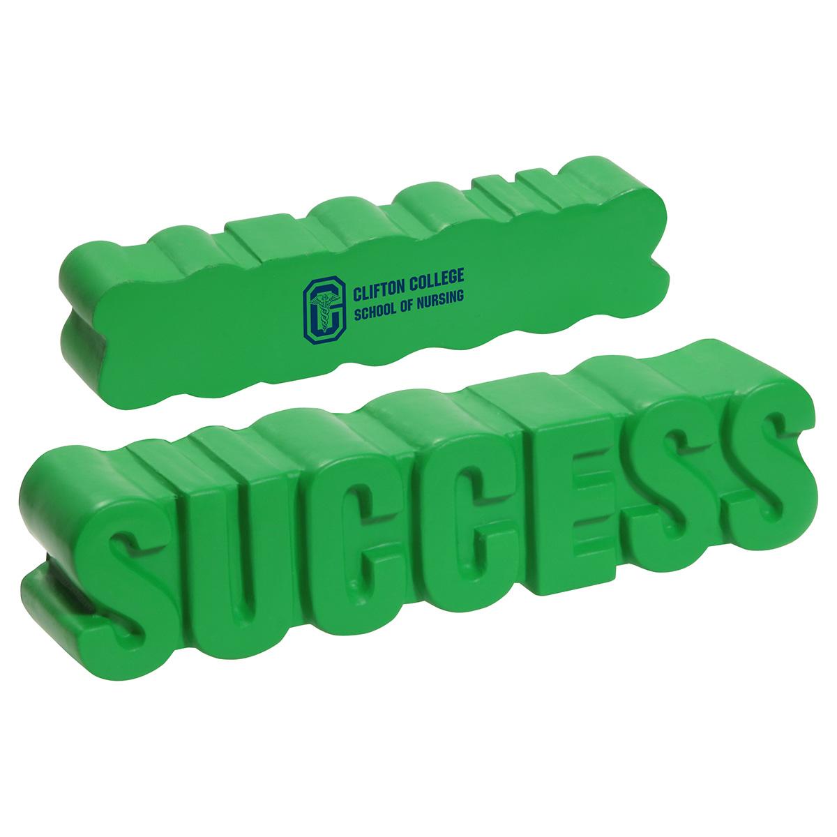Success Word Stress Reliever, LGS-SC12 - 1 Colour Imprint
