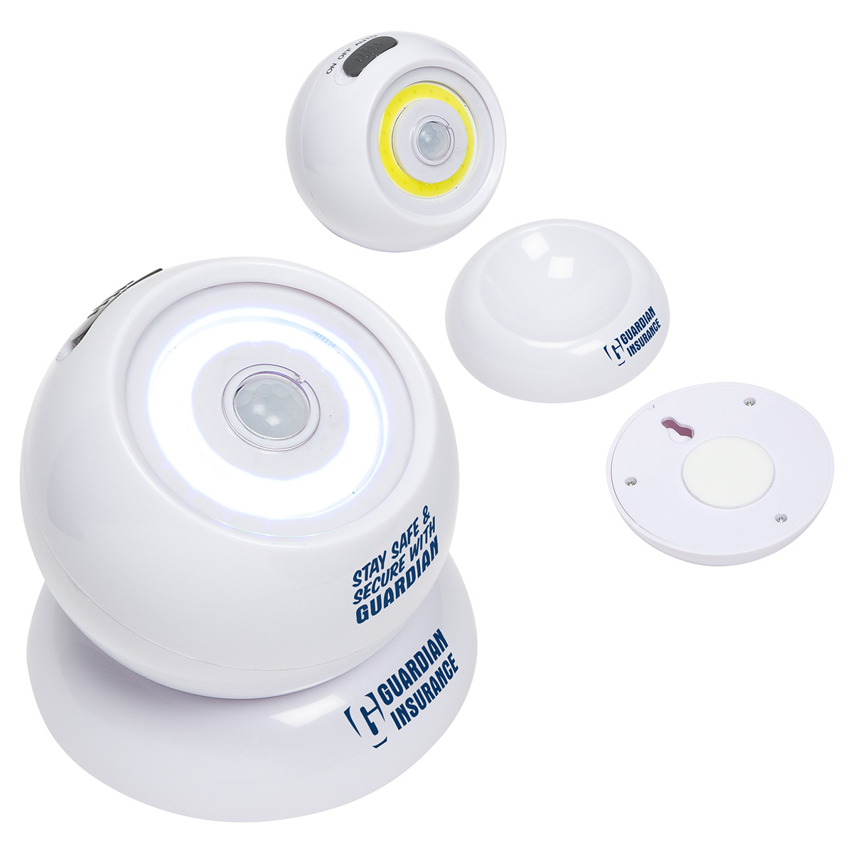 Orbit Swivel Beacon with Motion Detector, WLT-OS18, 1 Colour Imprint