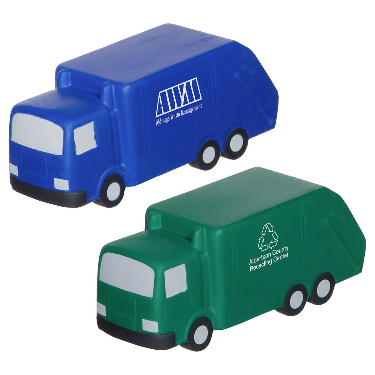 Garbage Truck Stress Reliever, LCC-GB09, 1 Colour Imprint