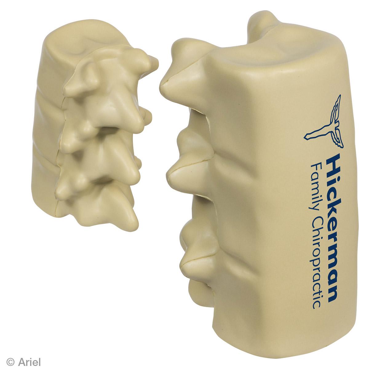 Spinal Segment Stress Reliever, LAN-SP15, 1 Colour Imprint