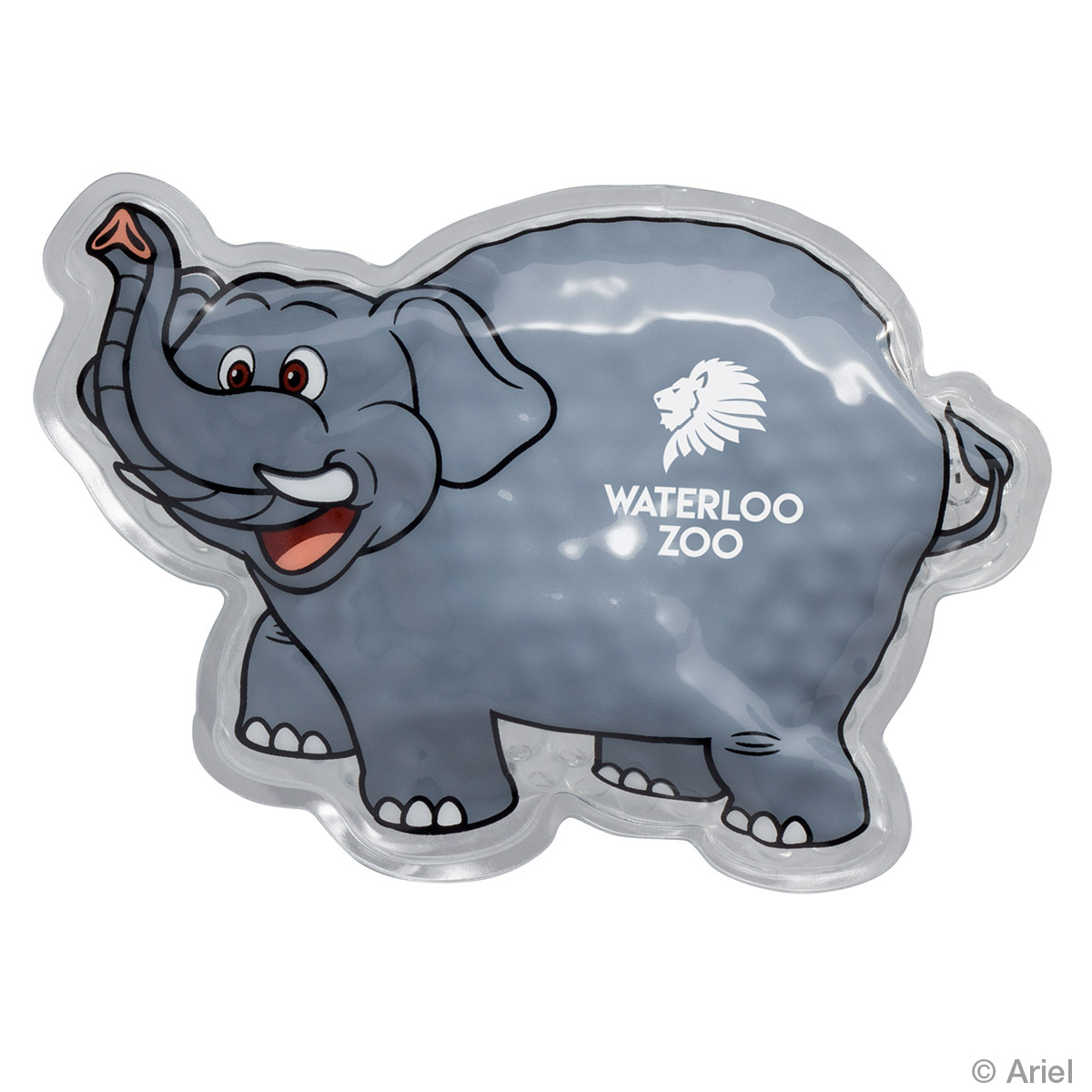 Elephant Hot/Cold Pack, WHF-EF17 - 1 Colour Imprint