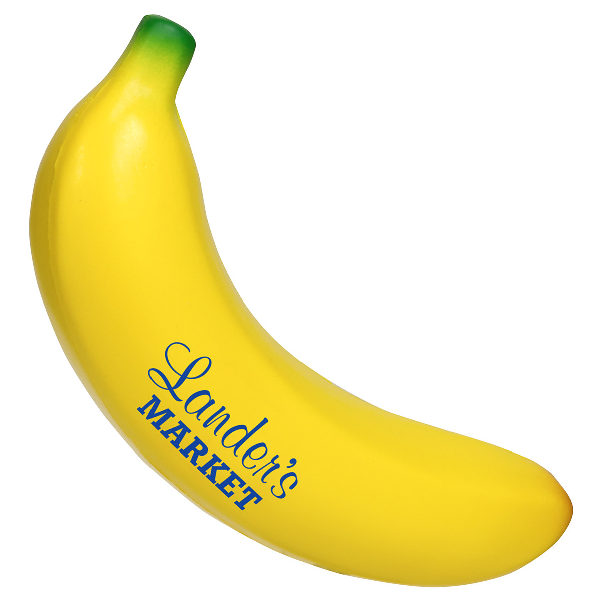Banana Stress Reliever, LFR-BA02 - 1 Colour Imprint