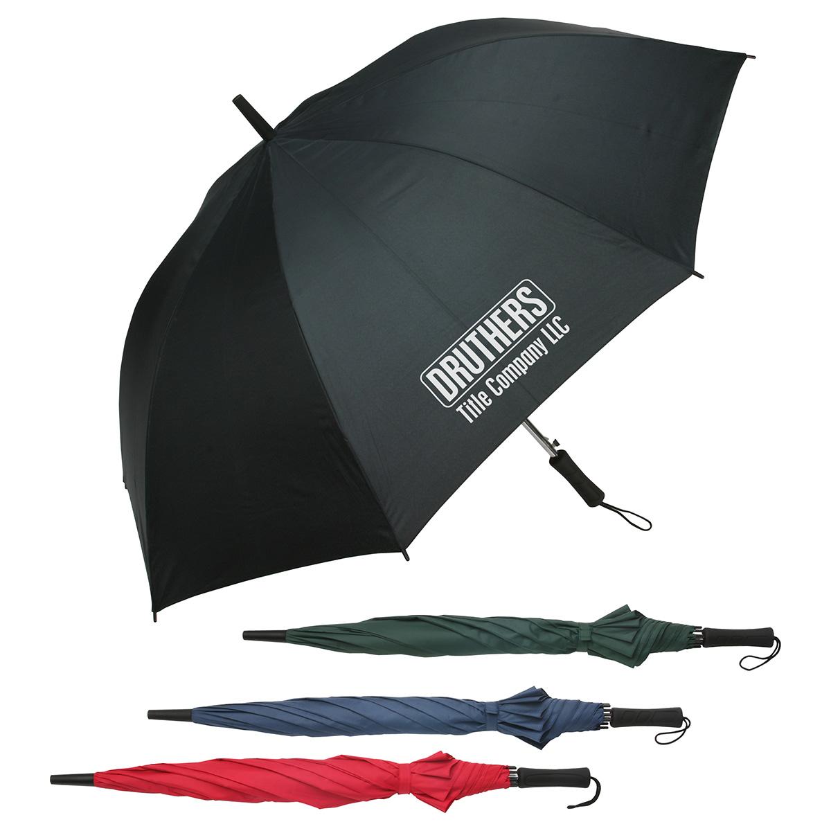 Lockwood Auto Open Golf Umbrella, WTV-LG11, 1 Colour Imprint