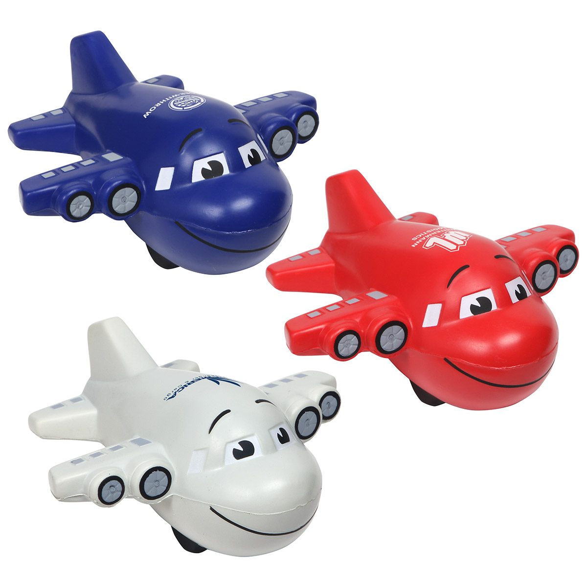Large Airplane Stress Reliever, LAR-LA05 - 1 Colour Imprint