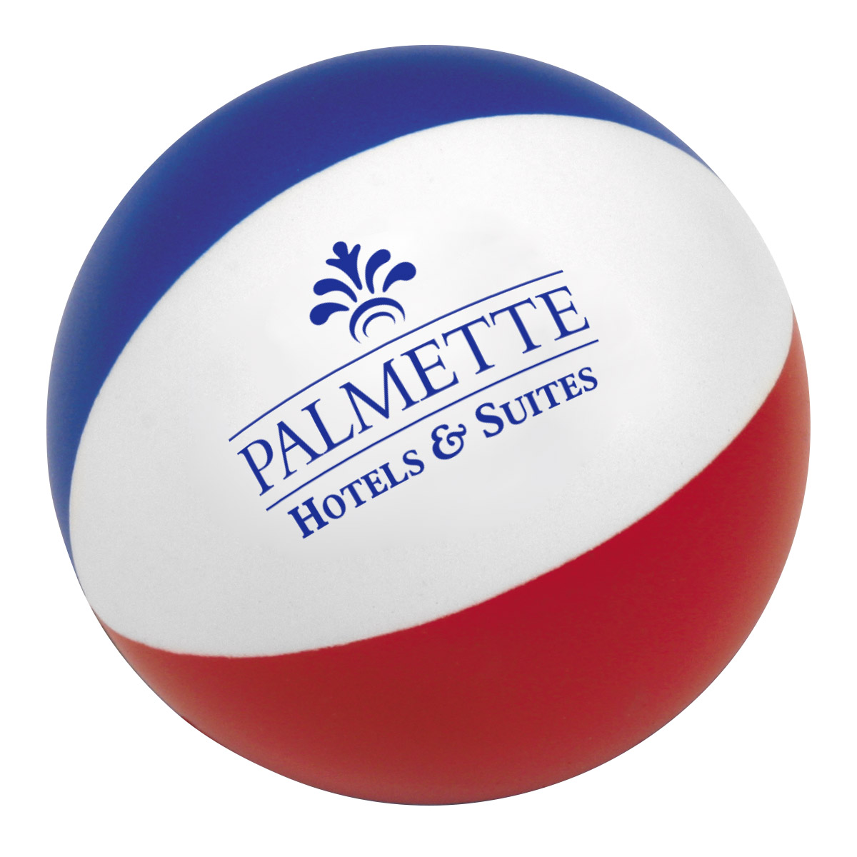 Beach Ball Stress Reliever, LTV-BB04, 1 Colour Imprint
