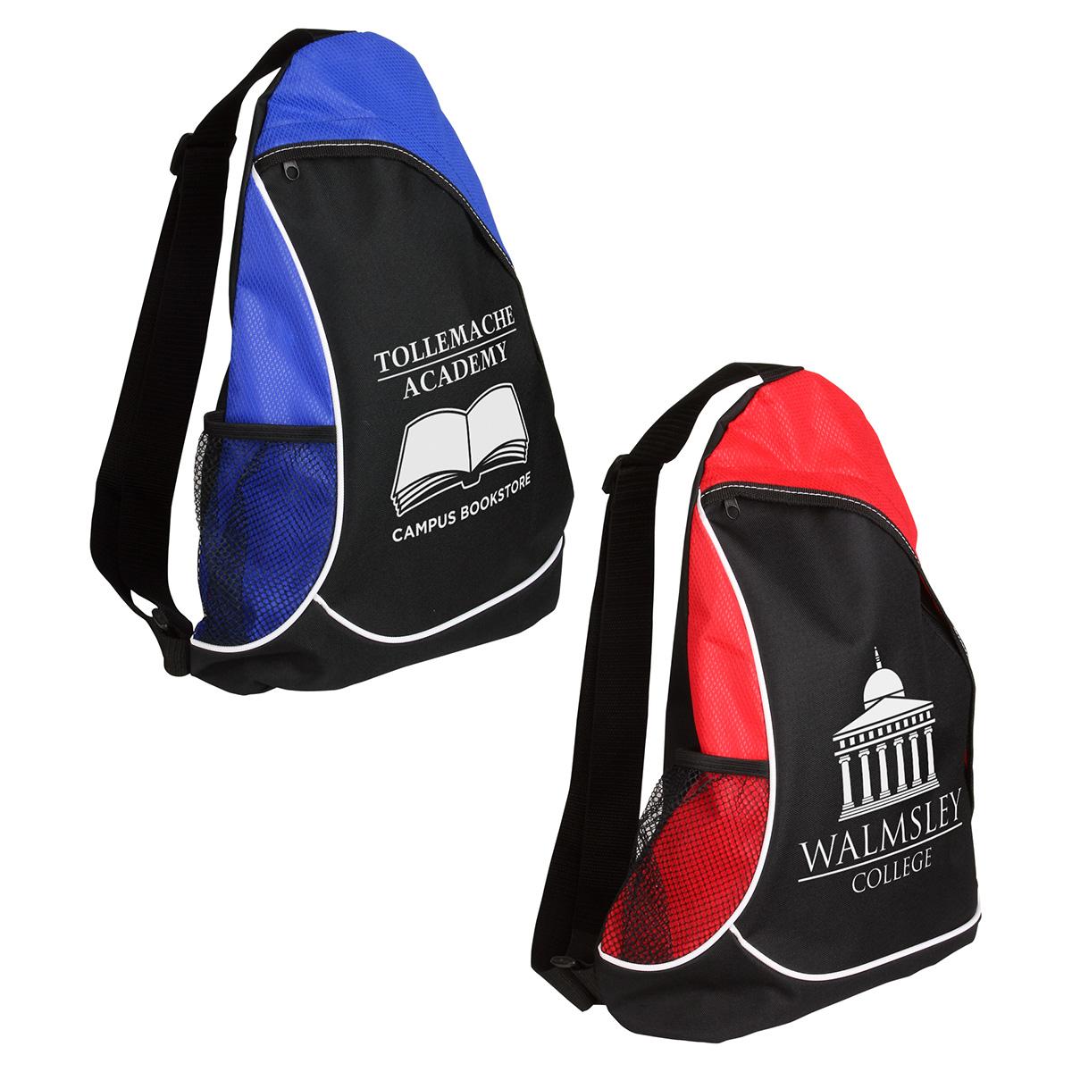 Natural Curve Sling Backpack, WBA-NC11 - 1 Colour Imprint