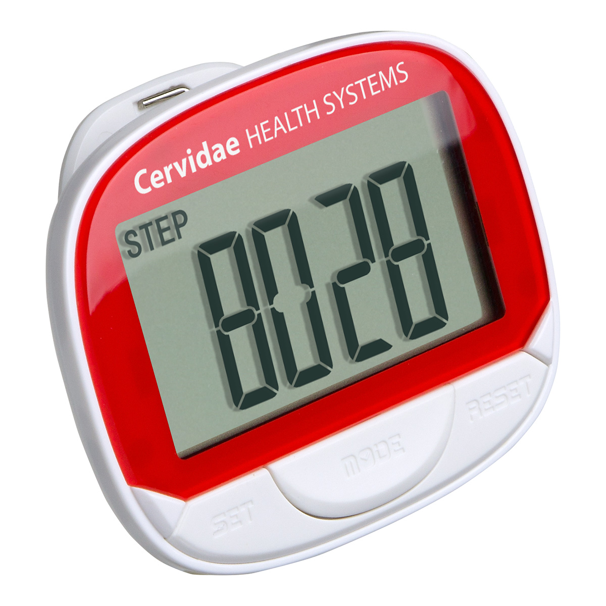 Jumbo Screen Multifunction Pedometer with Clock, WHF-JB16, 1 Colour Imprint