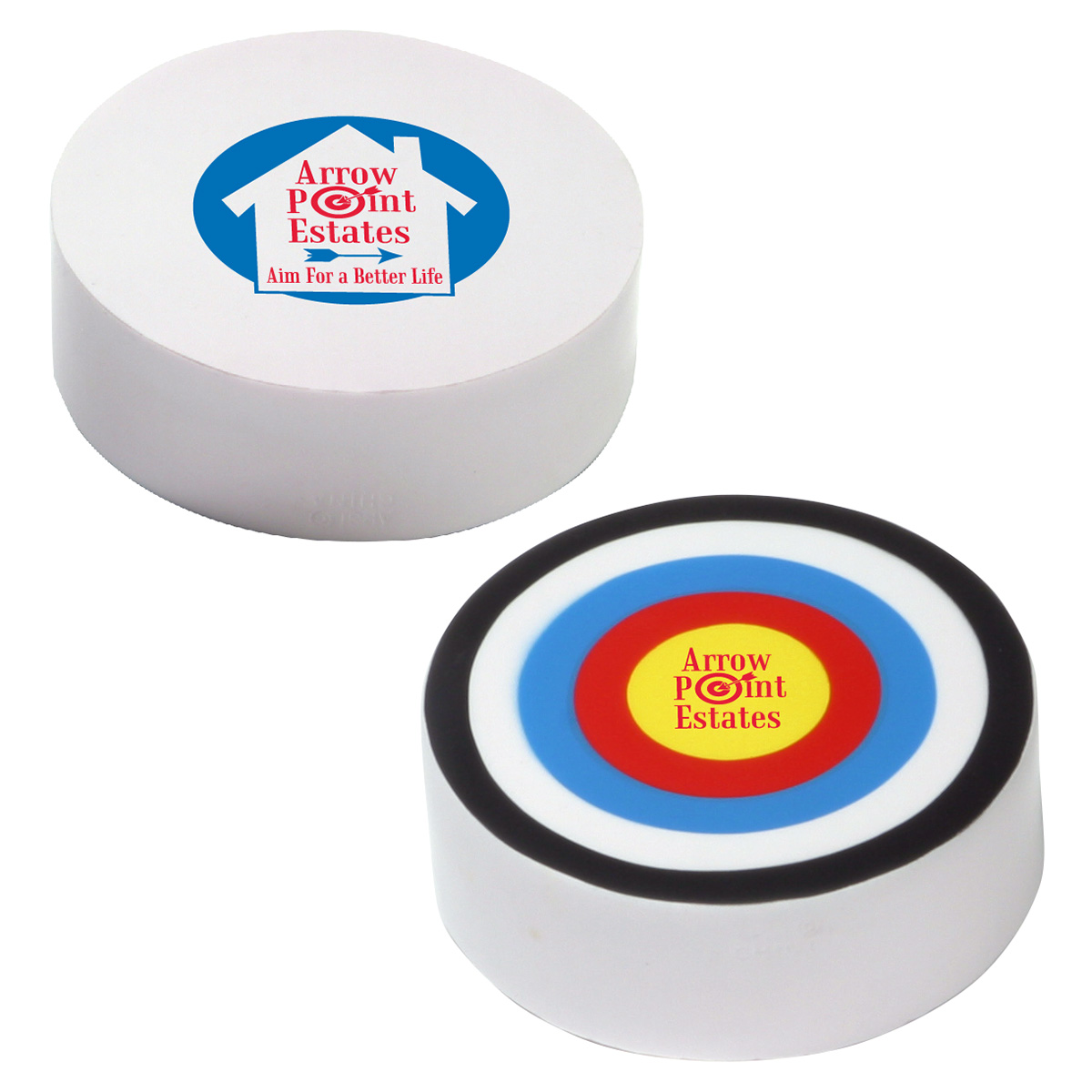 Bullseye Stress Reliever, LGS-BE07, 1 Colour Imprint