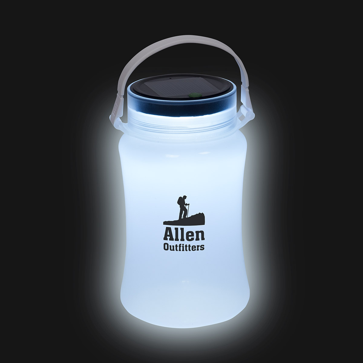Foldable Waterproof Container with Solar Light, WTV-FW16, 1 Colour Imprint