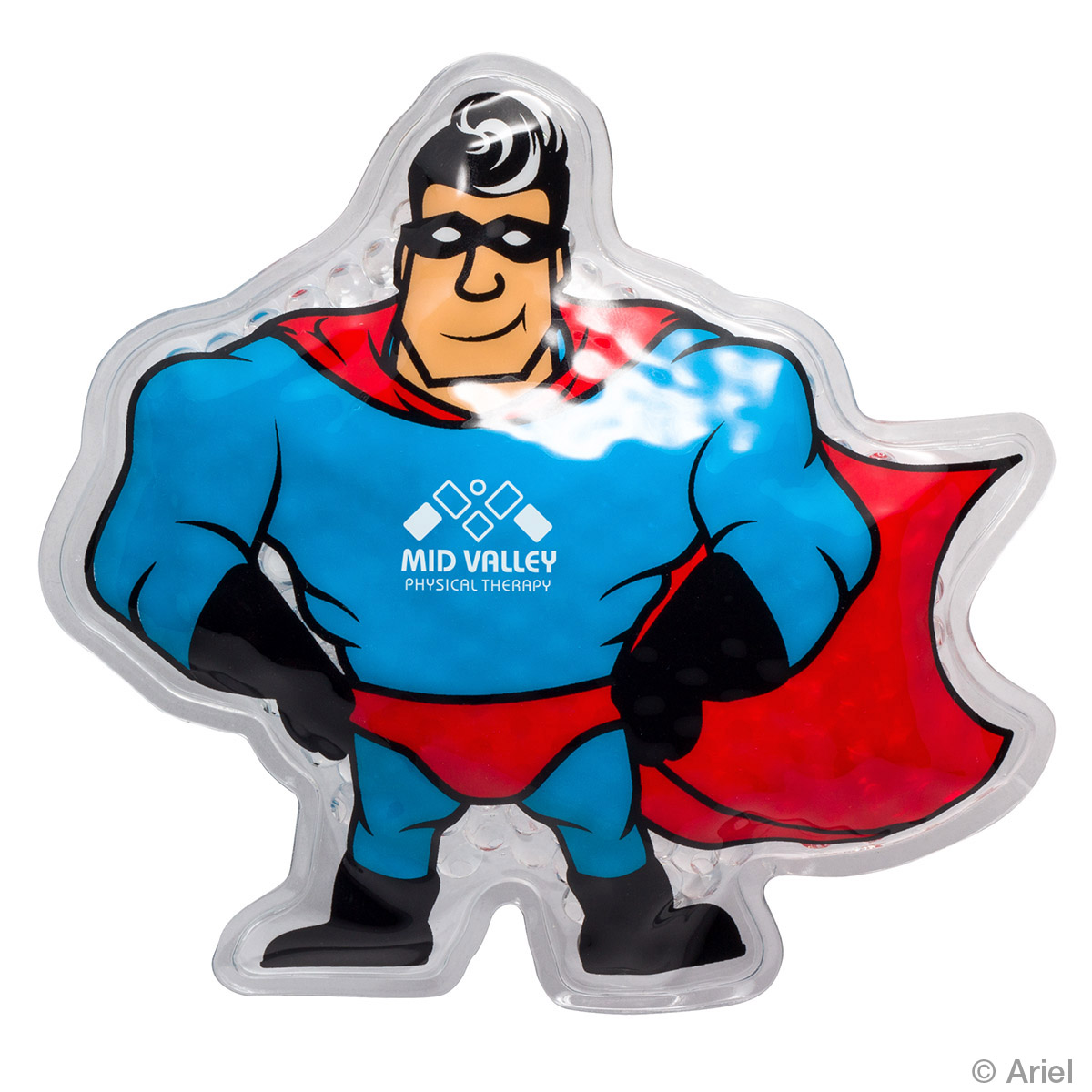 Super Hero Hot/Cold Pack, WHF-SP17, 1 Colour Imprint