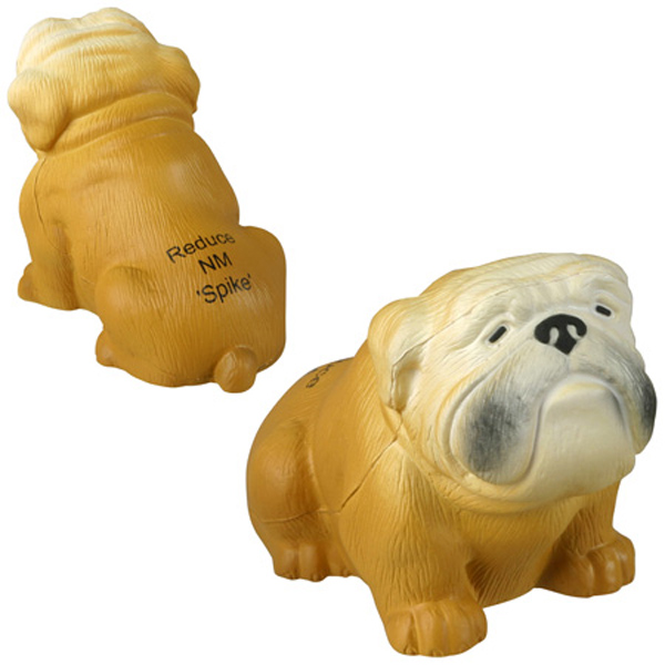 Bulldog Stress Reliever, LPE-BD17 - 1 Colour Imprint