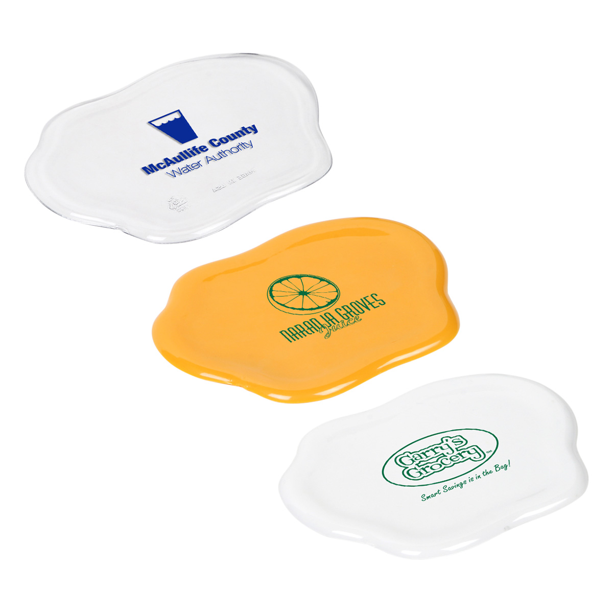 Sip N' Spill Coaster, WKA-SS11 - 1 Colour Imprint