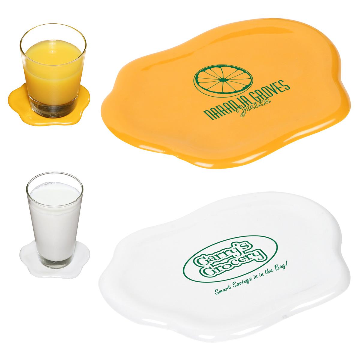 Sip N' Spill Coaster, WKA-SS11 - 1 Colour Imprint