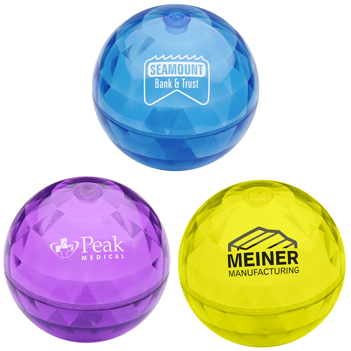 Rocket Orb Promo Bouncer Ball, LBL-RK10 - 1 Colour Imprint
