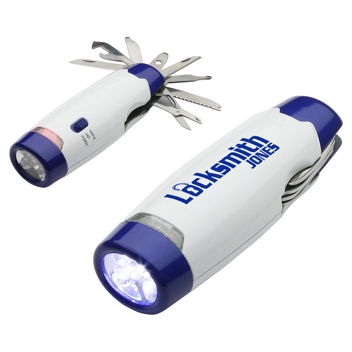Emergency Multi-Tool LED Light, WTT-EM11, 1 Colour Imprint