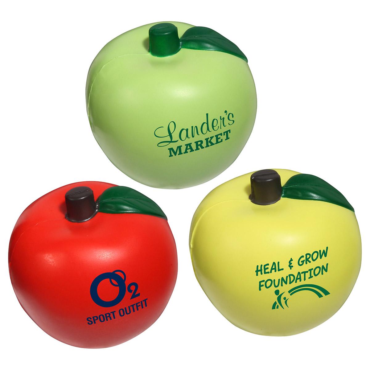 Apple Stress Reliever, LFR-AP03 - 1 Colour Imprint