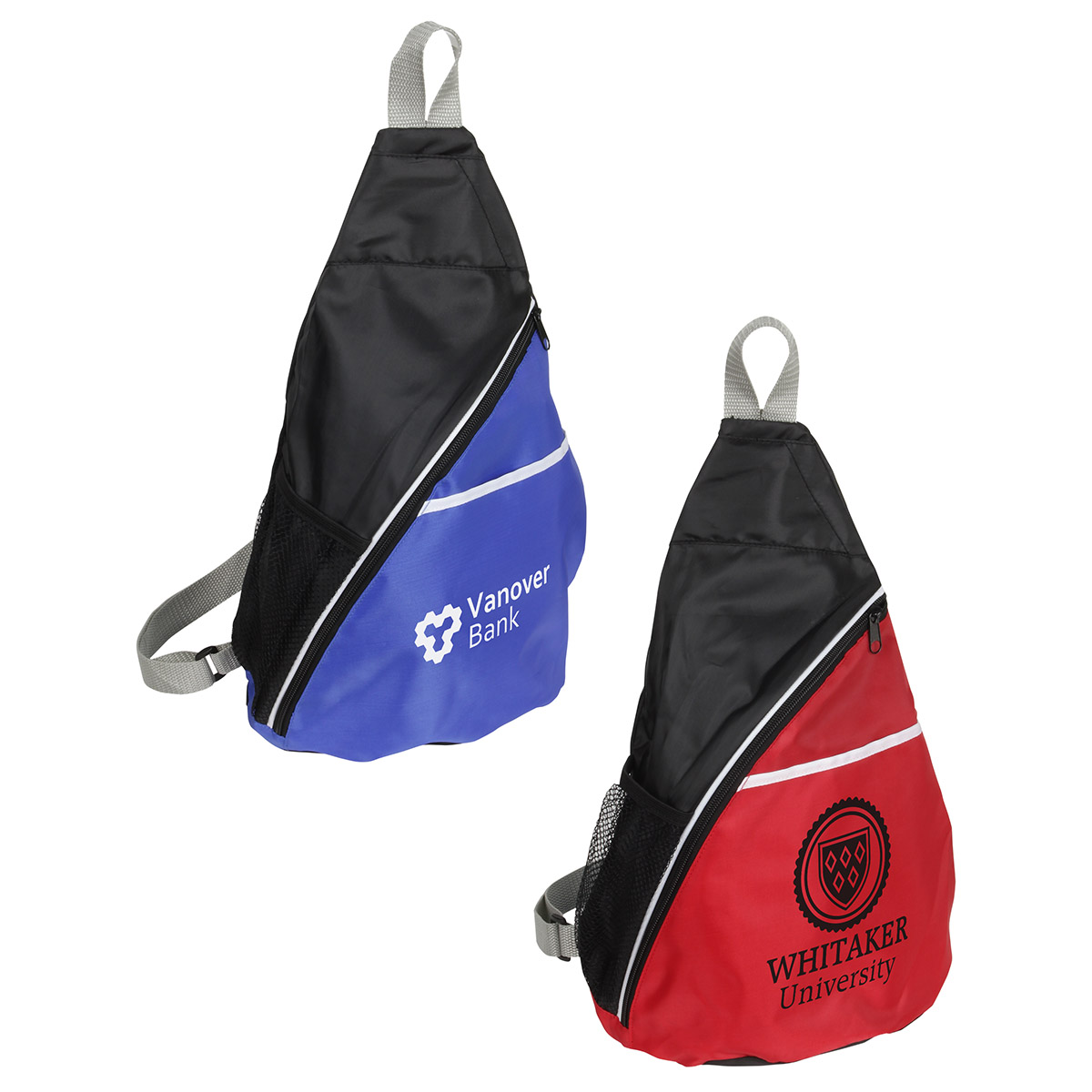 Busy Day Sling Backpack, WBA-BD12 - 1 Colour Imprint