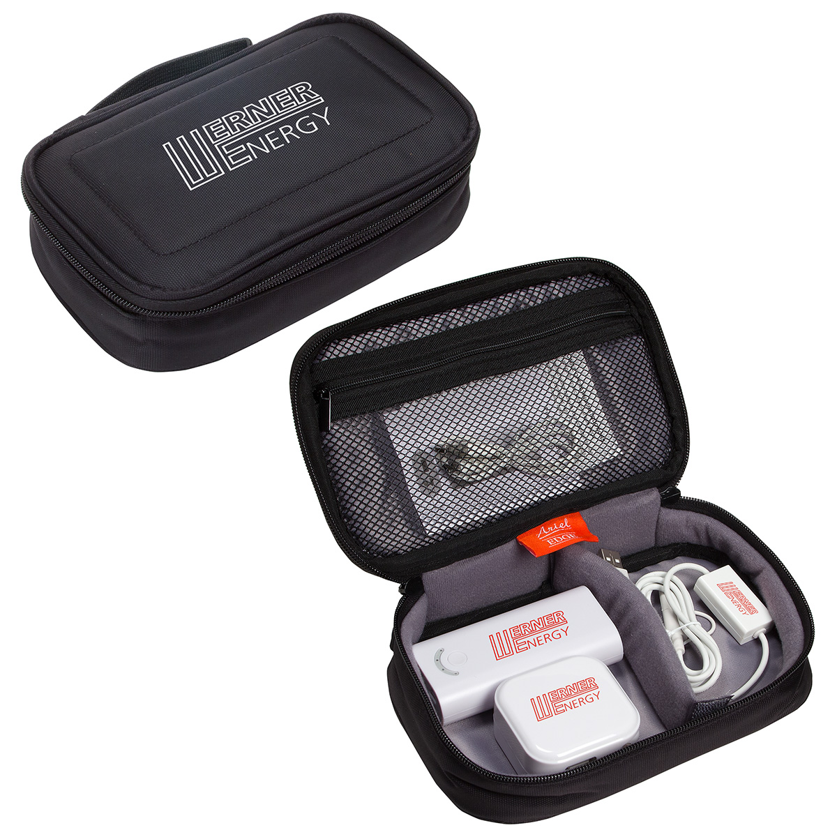 ChargerLeash Road Warrior Kit, ETK-CR16 - 1 Colour Imprint