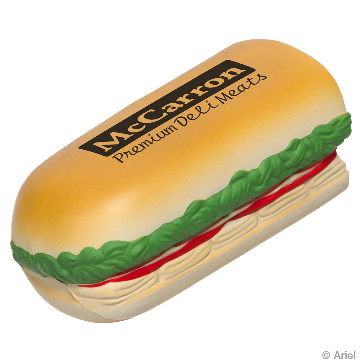 Sub Sandwich Stress Reliever, LFD-SS17, 1 Colour Imprint