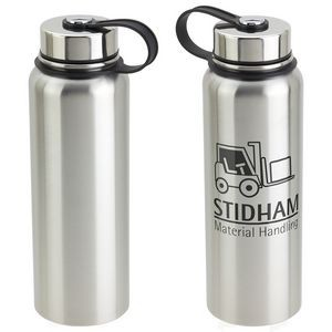 32 Oz. Thirst-Be-Gone Insulated Stainless Steel Bottle