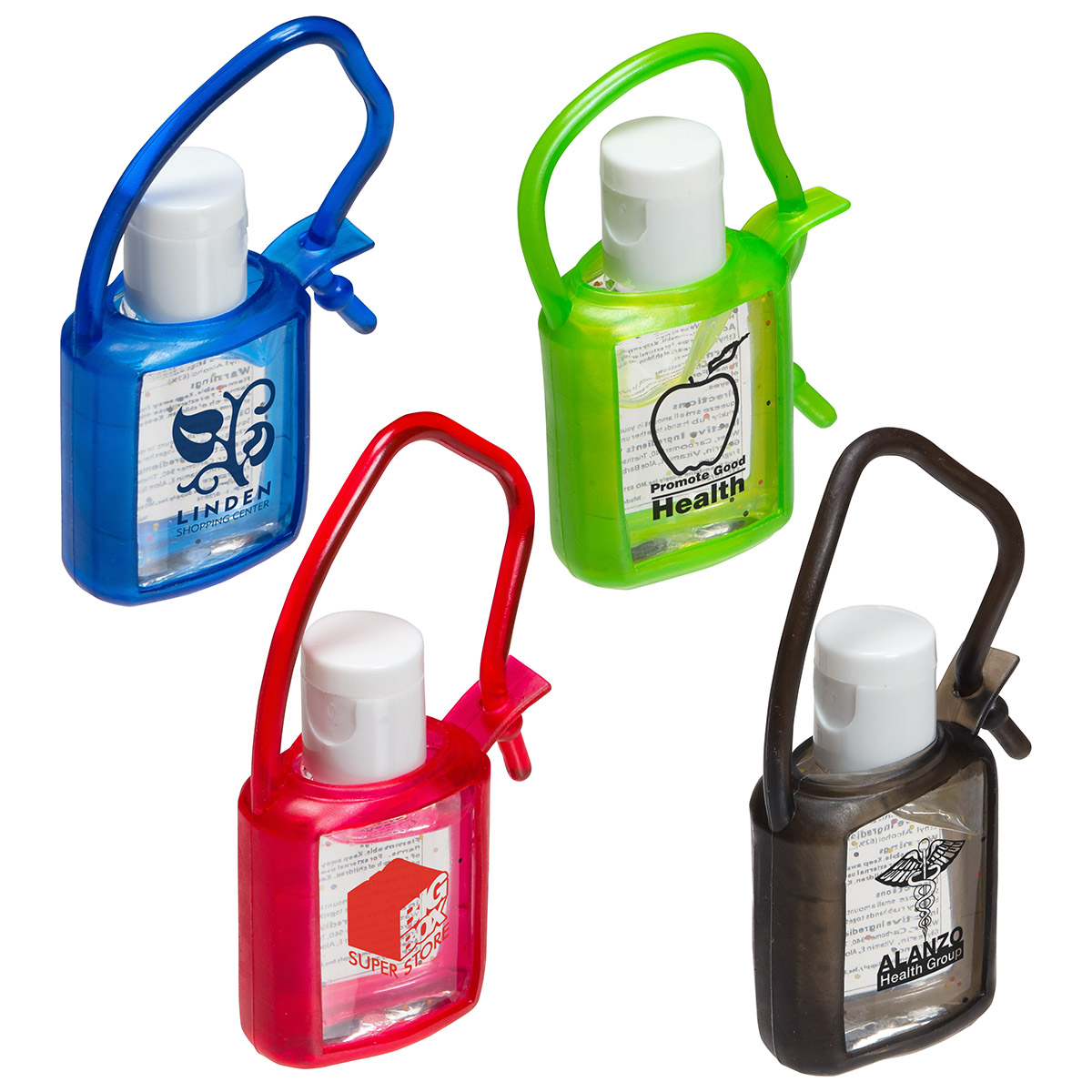 Cool Clip Hand Sanitizer, WSA-CC10 - 1 Colour Imprint