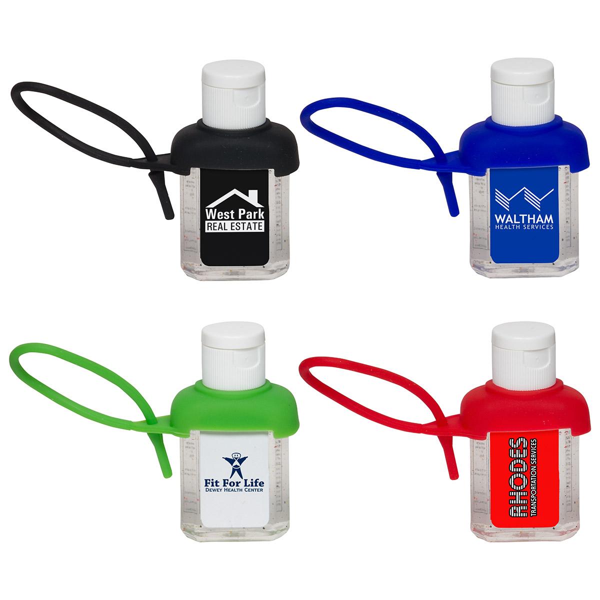 1 Oz. Caddy Strap Moisture Bead Hand Sanitizer, WSA-CO16 - 1 Colour Imprint