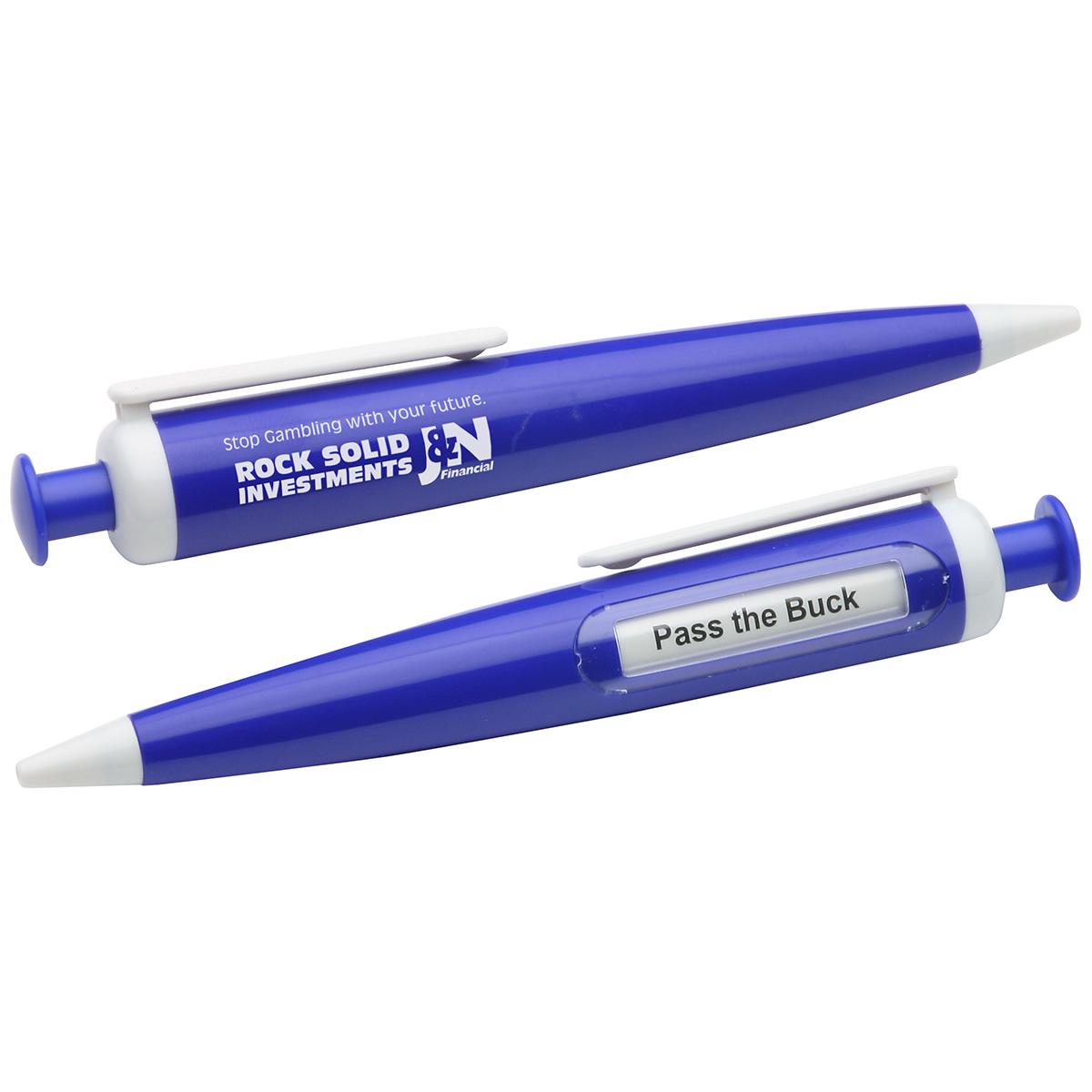Decision Maker Pen, WOF-DP10, 1 Colour Imprint