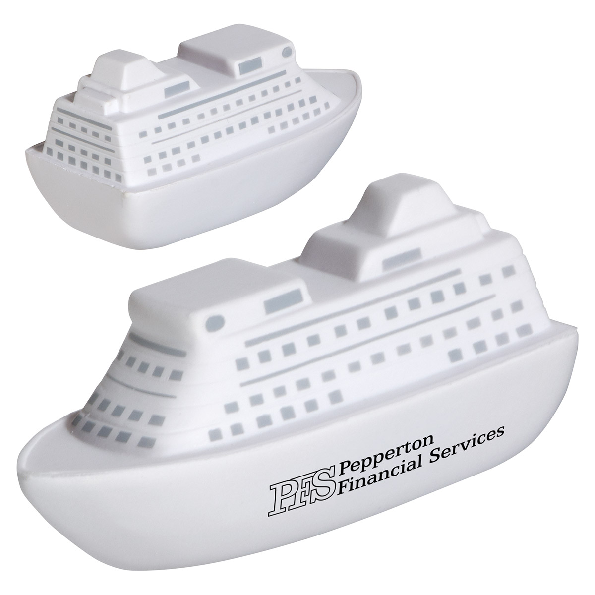 Cruise Ship Stress Reliever, LTV-CS37, 1 Colour Imprint