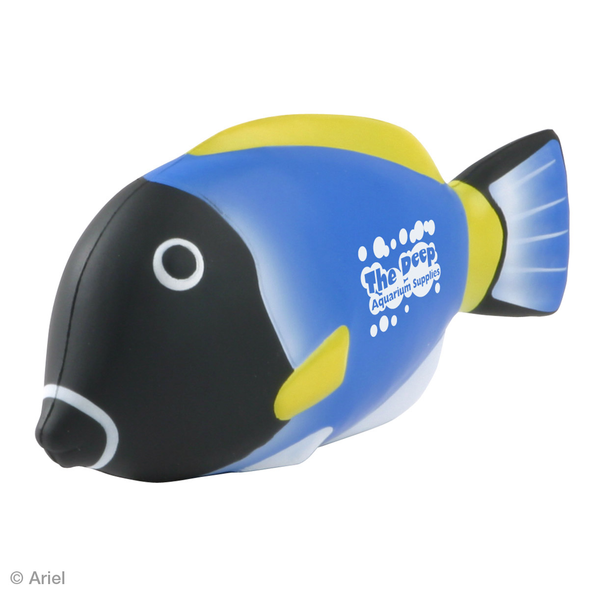 Blue Tang Fish Stress Reliever, LAA-BT07, 1 Colour Imprint