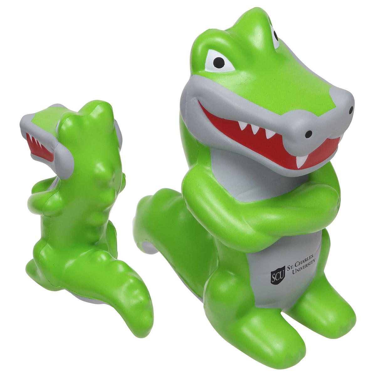 Crocodile Mascot, LMT-CR17 - 1 Colour Imprint