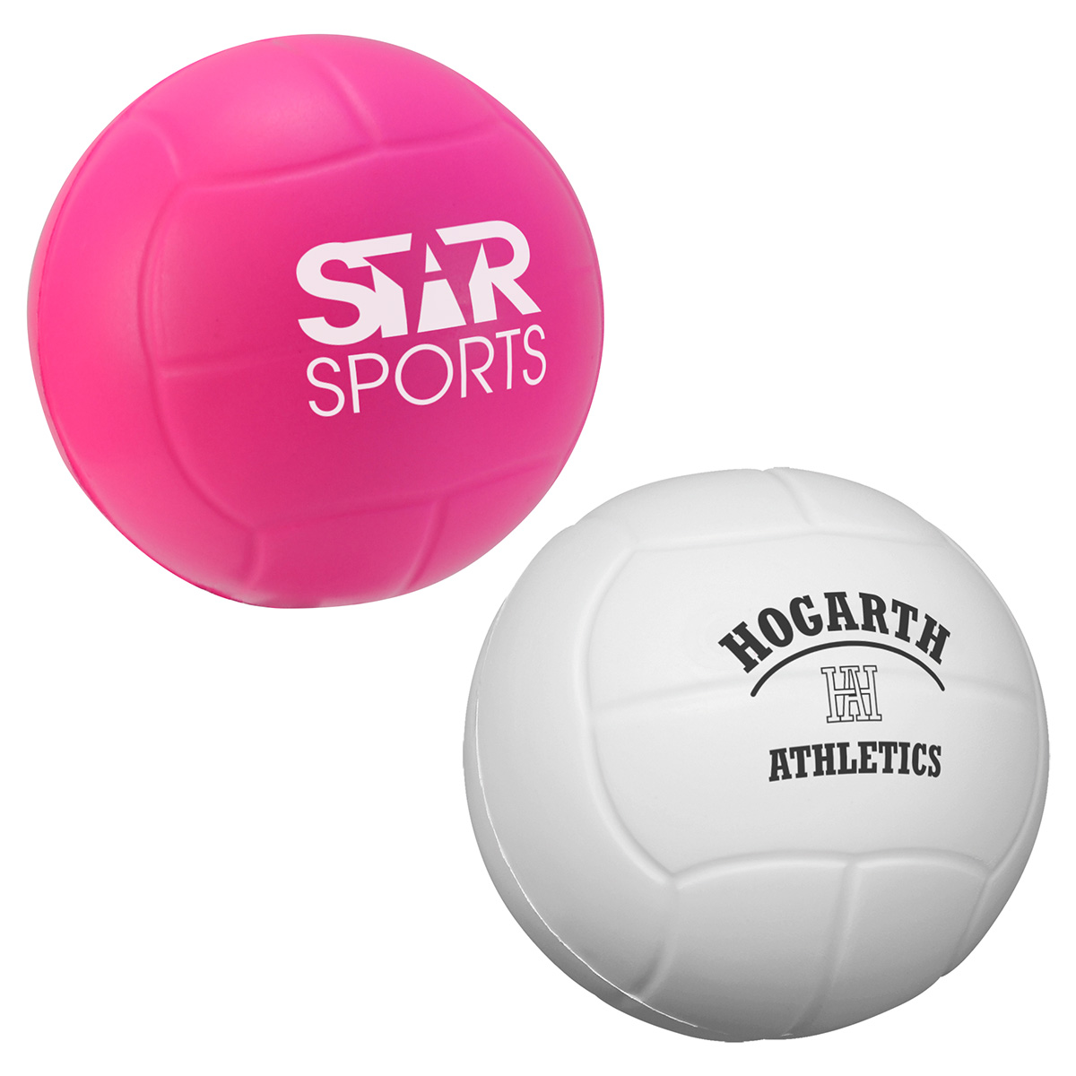 Volleyball Stress Reliever, LSP-VL08, 1 Colour Imprint