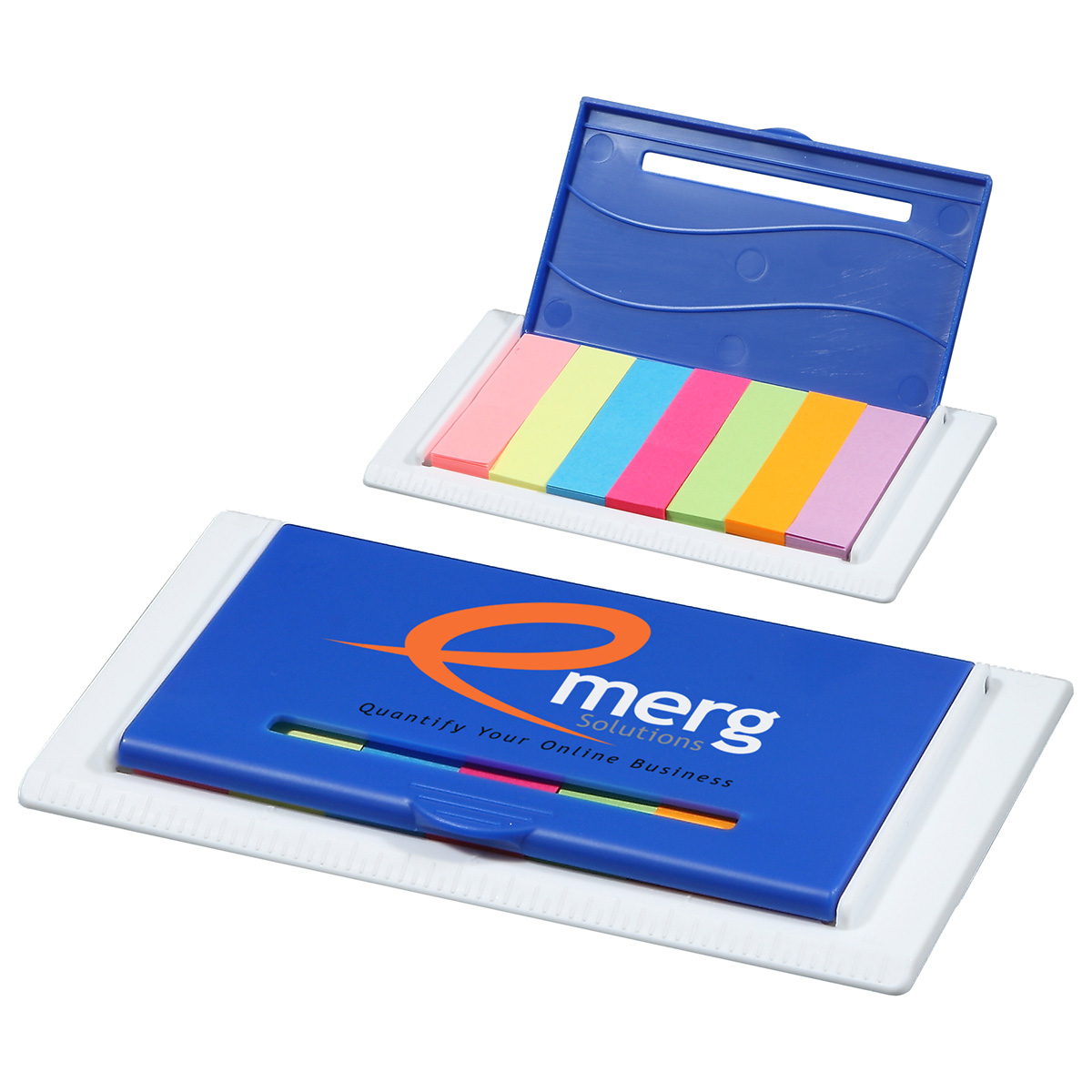 Flag Tag Ruler Case, WOF-FT10 - 1 Colour Imprint