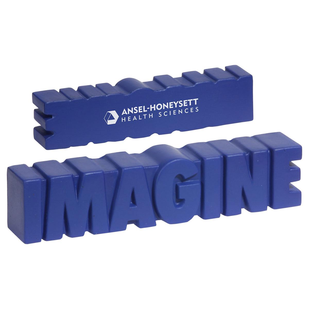 Imagine Word Stress Reliever, LGS-IM13, 1 Colour Imprint