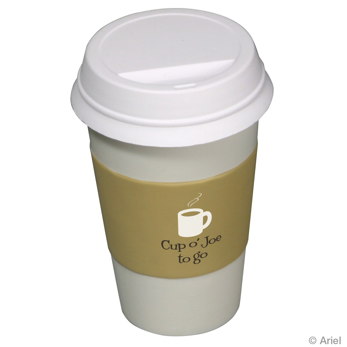 To Go Coffee Cup Stress Reliever, LFD-TG07, 1 Colour Imprint
