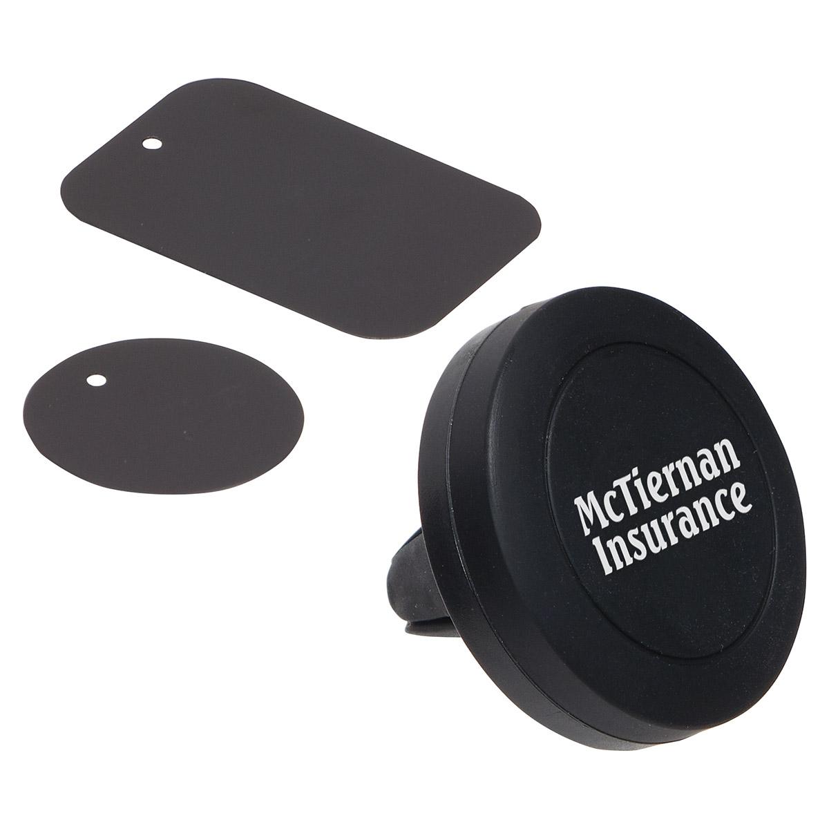 Magna Grip Vent Clip & Phone Stand, WAU-MV17 - 1 Colour Imprint