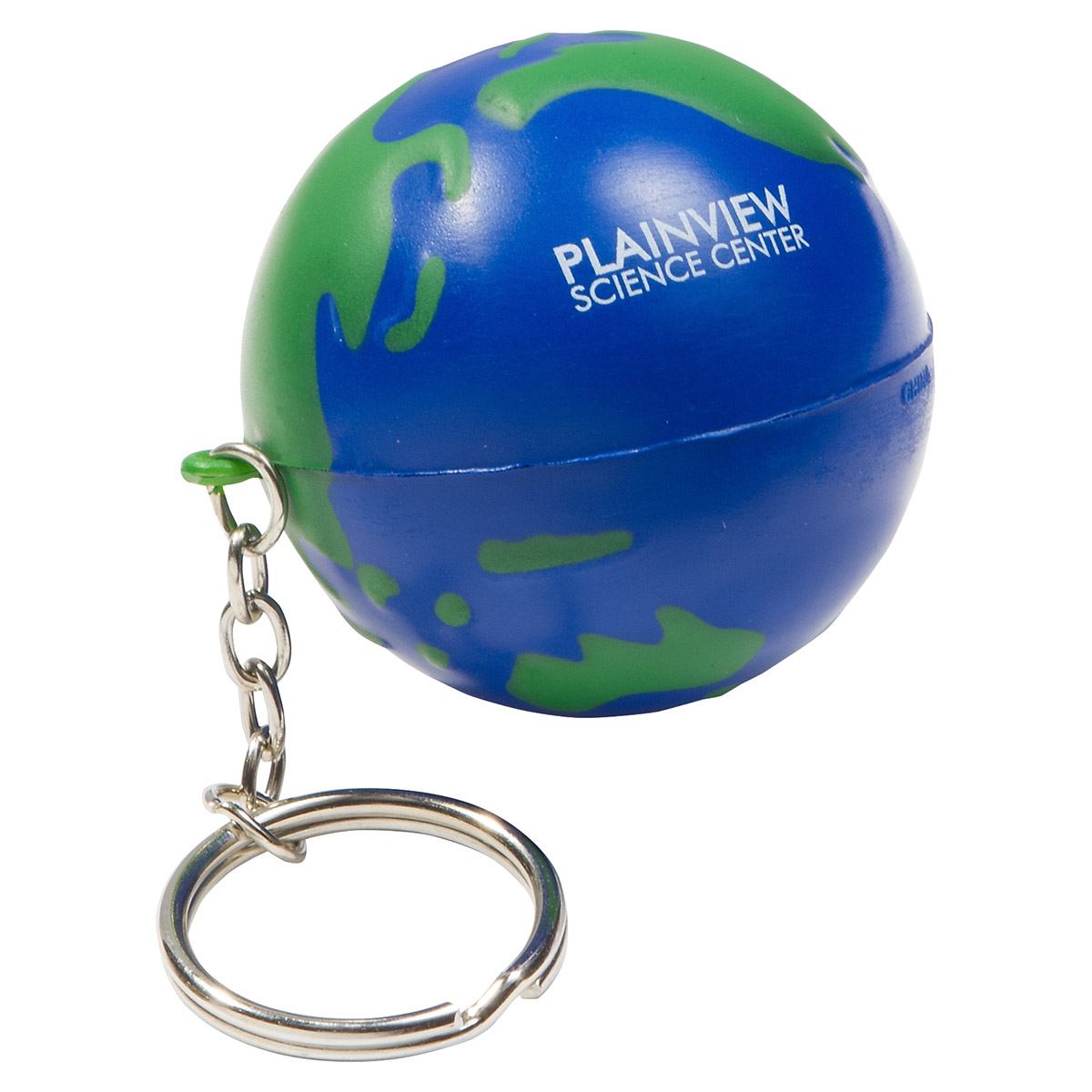 Earthball Stress Reliever Key Chain, LKC-EB01, 1 Colour Imprint