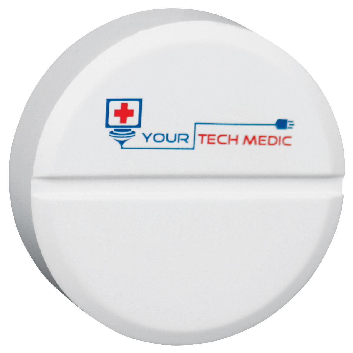 Tablet Pill Stress Reliever, LPH-PT02 - 1 Colour Imprint