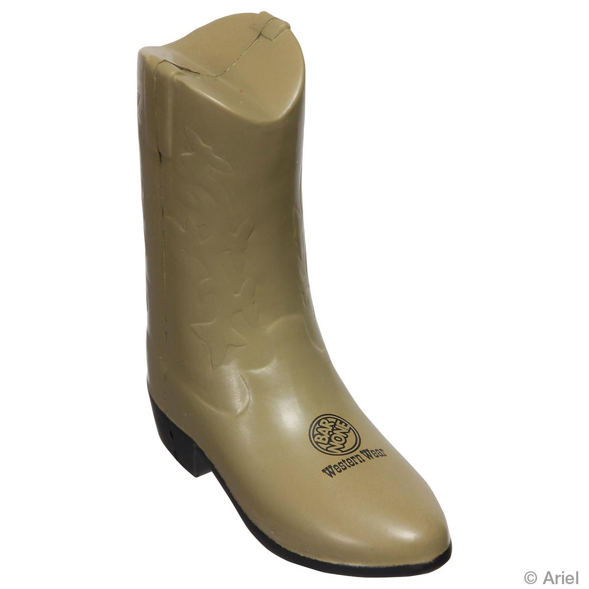 Cowboy Boot Stress Reliever, LWE-CB88 - 1 Colour Imprint