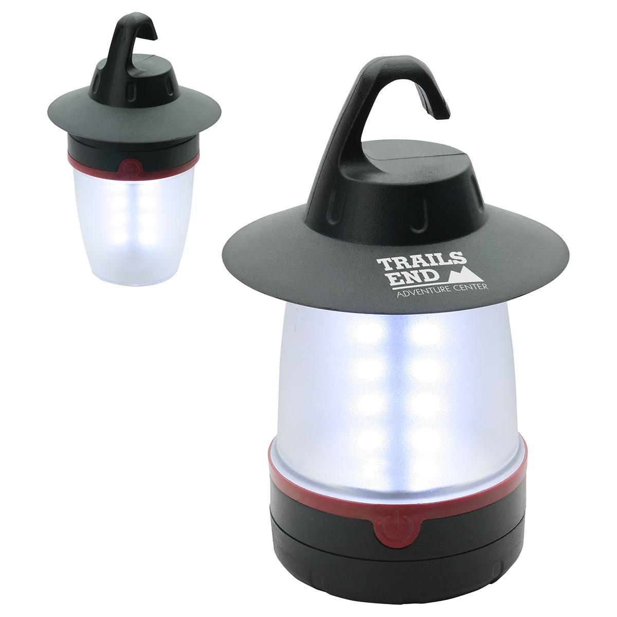 Candle Bright Dual Lantern w/ Detachable Handle, WLT-CB11 - 1 Colour Imprint