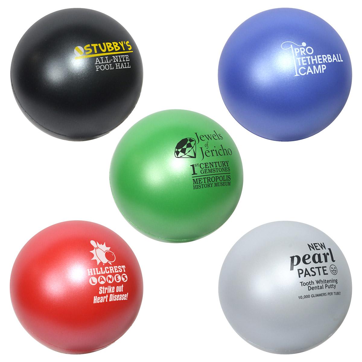 Jewel Stress Ball, LSB-JB08 - 1 Colour Imprint